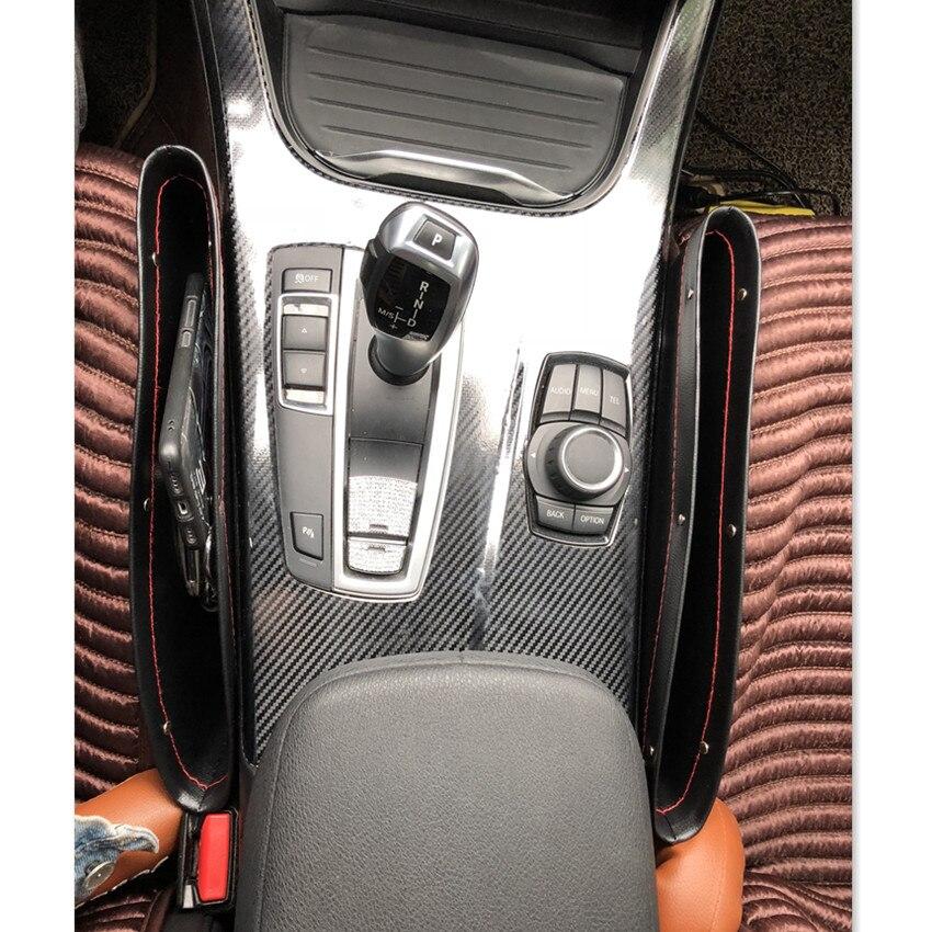 Coche asiento de cuero pu organizador caja para Mitsubishi Asx Lancer 10 9 Outlander 2013 Pajero Sport L200 Expo Eclipse