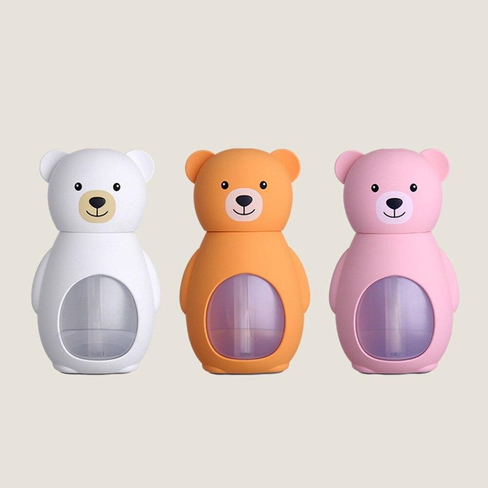 2018 NEW Bear Ultrasonic Humidifier Lovely Bear Ultrasonic Humidifier Mini Home Desktop Air Purifier