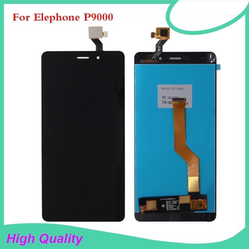 Wysokiej jakości dla Elephone P9000 wyświetlacz LCD ekran dotykowy Digitizer z bezpłatnym narzędzia i bezpłatna folia ochronna