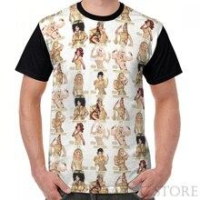 Summer Fashion printed men t shirt women tops tees Rupauls Drag Race All Stars 3 Cast Graphic T-Shirt funny Short Sleeve tshirts