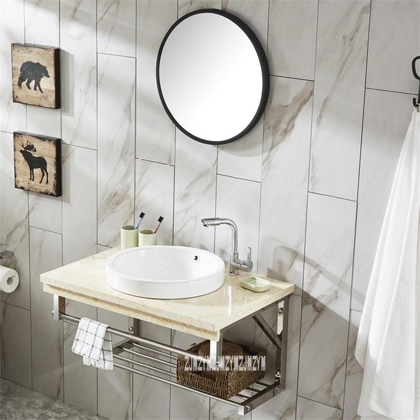 TZP001 الحائط نوع خزانة المرحاض الغرور كومبو خزانة بمرآة خزانة حمام السيراميك حوض خزانة الحمام