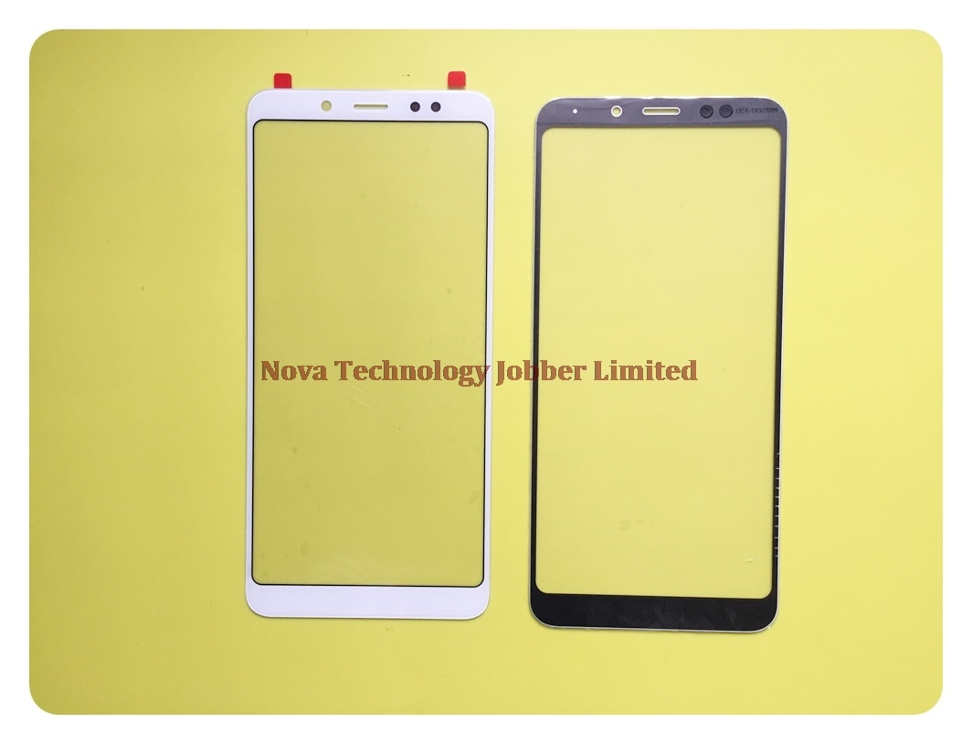 Pantalla de cristal exterior Wyieno Note 5 Pro para Xiaomi Redmi Note 5, Panel frontal de cristal (sin Sensor de pantalla táctil) de seguimiento