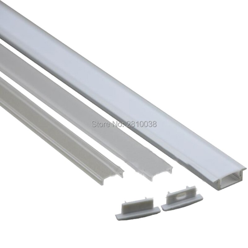 500 X 2M Sets/Lot Factory promotional aluminium profile for led strips and Flat T led extrusion channels for wall ceiling