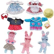 Doll Clothes Fit 25cm Baby Doll Toy 1/6 BJD Doll New Born Doll Accessories Cute Wedding Dress Headwe