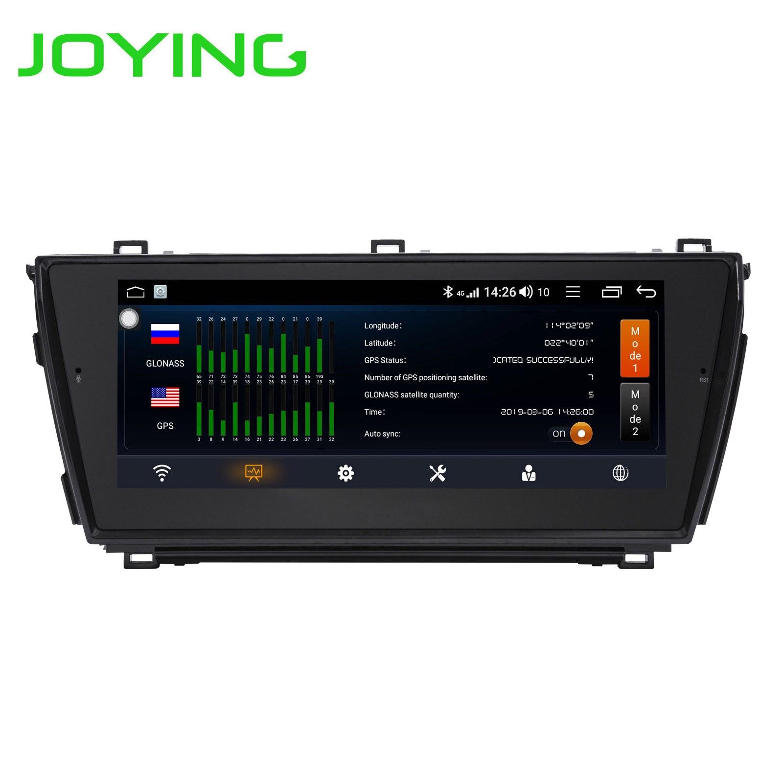 Disfrutando Android 8,1 Octa Core 4G + 64G de Audio de coche Radio unidad para Toyota Corolla 2014 a 2015 reproductor Multimedia GPS estéreo 2016