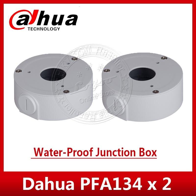 2 قطعة/الوحدة داهوا PFA134 المياه واقية تقاطع مربع DH-PFA134 ل IPC-HFW1320S IPC-HFW1431S و IPC-HFW2325S-W IP كاميرا