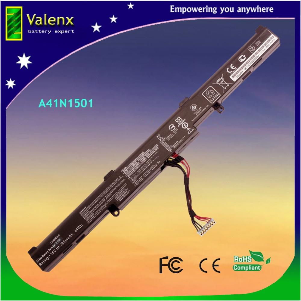 A41N1501 батарея для ASUS N552 N552V N552VX N752V N752VX G752VW GL752VW