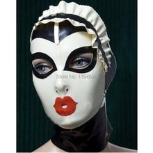 Латексная Маска для косплея, новинка, соблазнительная женская маска для косплея, ручная работа