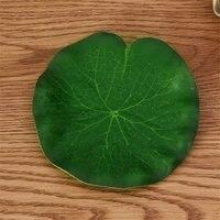 Mousse de polyethylene artificielle 10-60cm  1 piece  feuille de lotus  nenuphar  plante flottante pour piscine  aquarium  decoration detang de poisson  decoration de jardin de maison