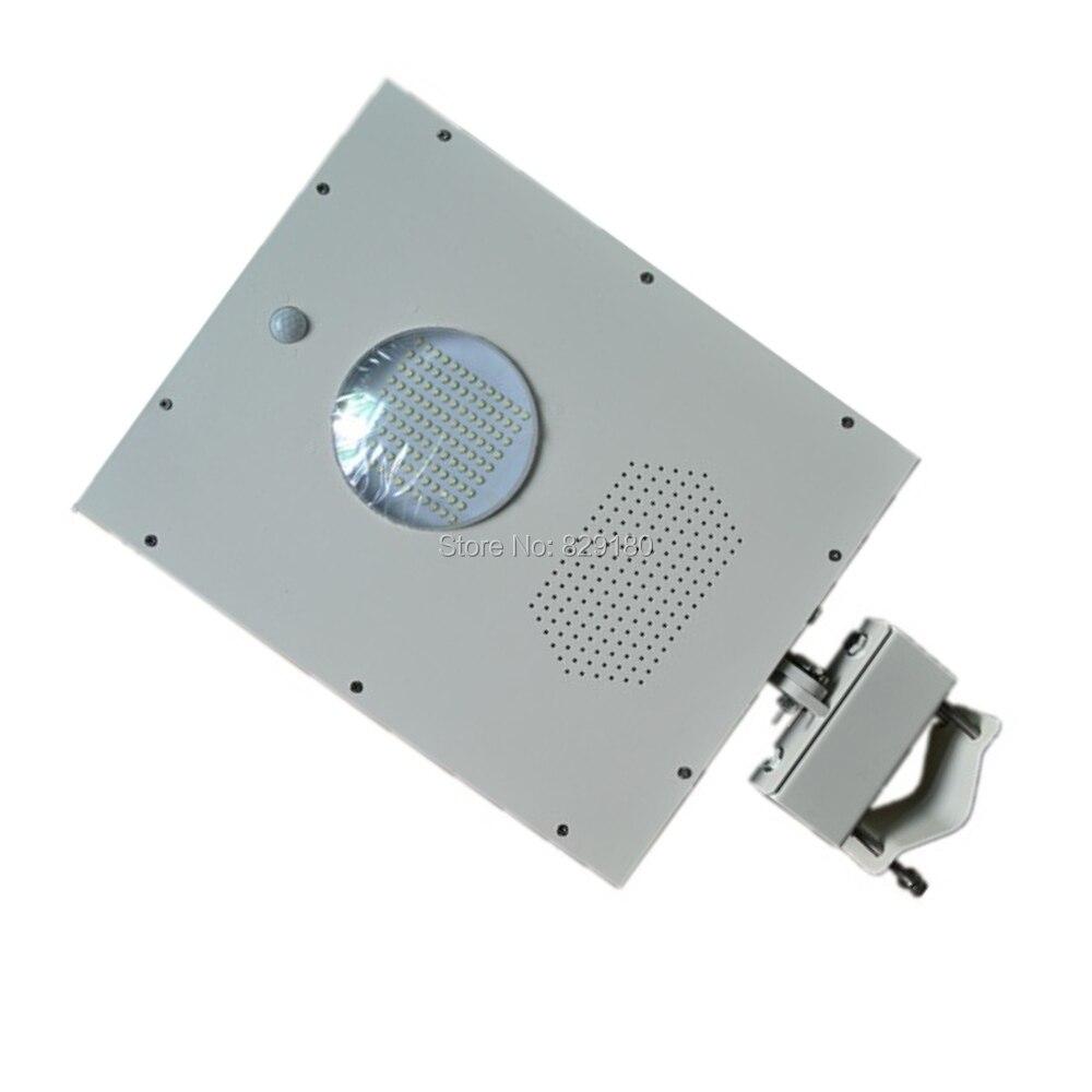 4 pcs 12 w CONDUZIU a Luz de Rua Solar, Sensor de Luz solar, 18 w Painel Solar Bateria 9ah Todas As em Um, integrado Luz Solar Ao Ar Livre