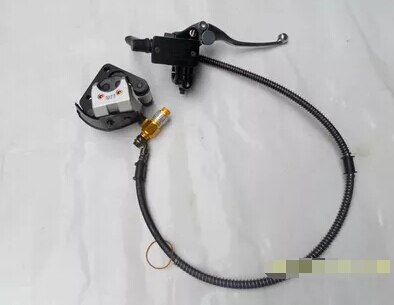 STARPAD For Zongshen 150-19  15 Longxin 150-6E storm -15 Long leopard prince common front disc brake sets of oil pumps