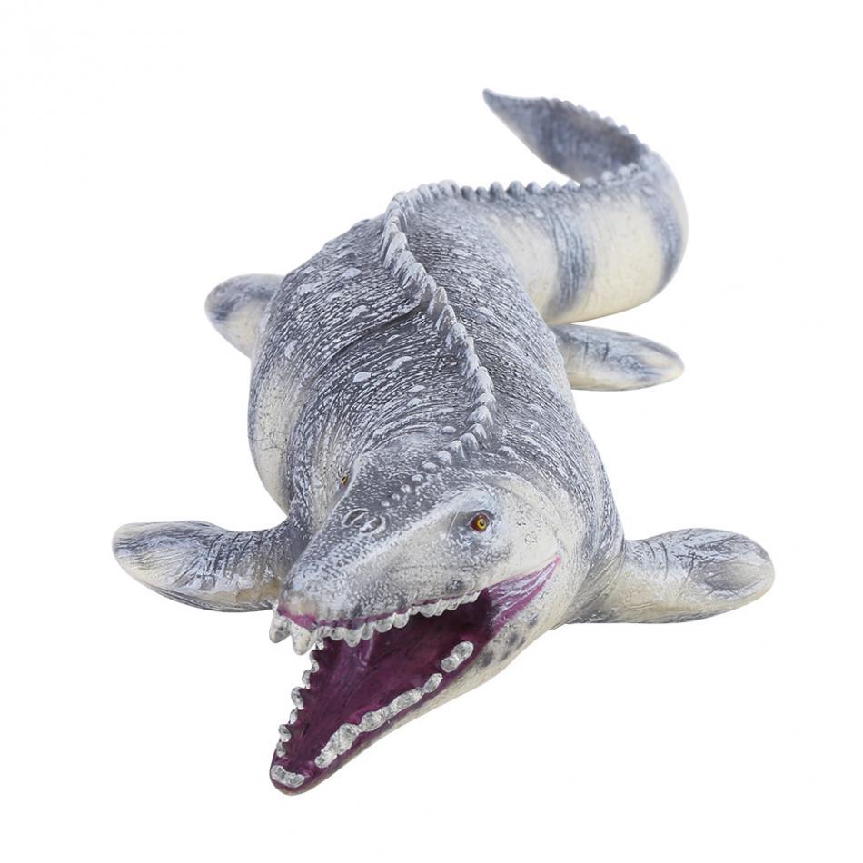 יורה גדול Mosasaurus דינוזאור צעצוע רך PVC פעולה דמויות יד צבוע בעלי החיים דגם אוסף דינוזאור צעצועים לילדים