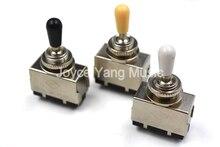 Corée Chrome 3 voies sélecteur LP guitare électrique pick-up commutateurs guitare levier à bascule crème/noir/blanc