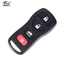 DANDKEY чехол для дистанционного ключа автомобиля чехол Fob для Nissan Sentra Armada 350Z Altima Maxima Infiniti FX35 EX35 FX45 QX56 G35 M45 I35