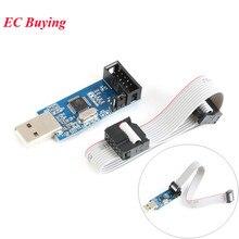 AVR programmeur USBASP USBISP Downloader 51 52 AVR programmeur USB fai USB ASP ATMEGA8 ATMEGA128 Support Win7 64