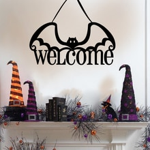 Halloween Party Willkommen Kürbis Fledermaus Decor Hängen Requisiten Hängen Party Dekorationen wohnkultur Anhänger Ornamente