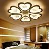Darmowa wysyłka nowoczesna sztuka do salonu lampy sufitowe led lampy sufitowe dziecko sypialnia światła w sypialni AC90-260V