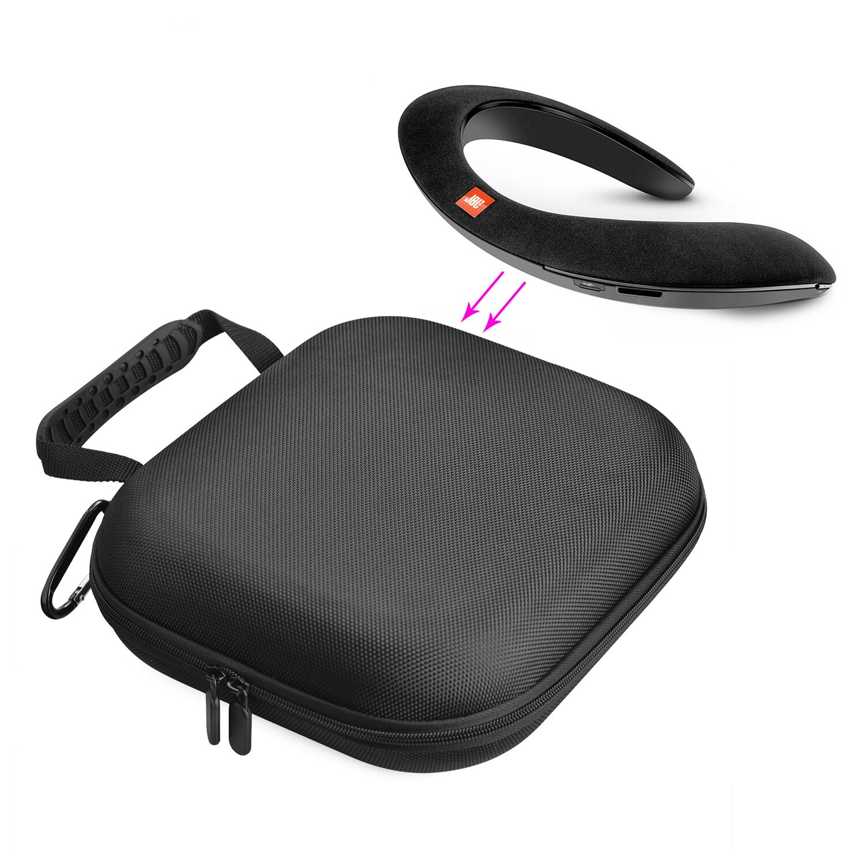 Proteger Saco Portátil Nylon Carrying Case para JBL E45BT E55BT soundgear UA Flex Dueto NC wireless JR300 T450BT V750NC JR300BT