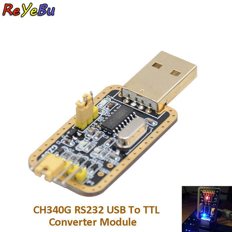 CH340 CH340G módulo serial USB a TTL V2.2 módulo serial con 4...