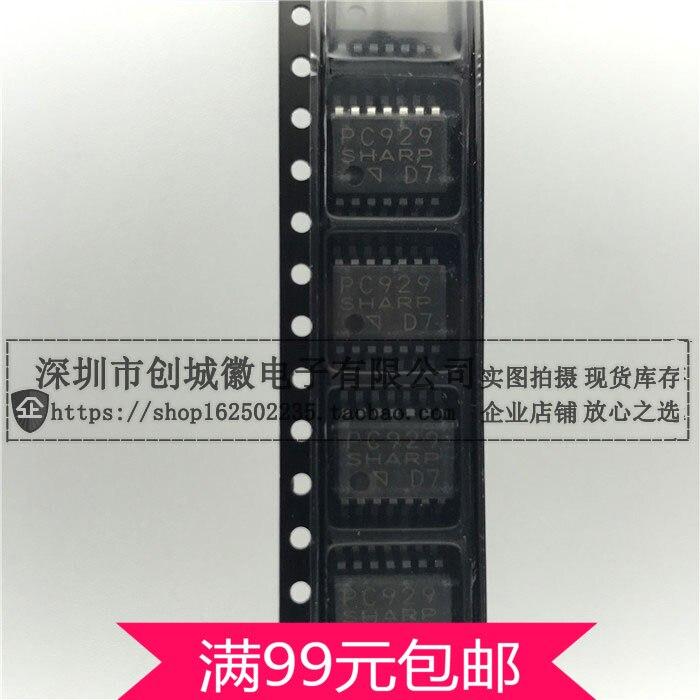PC929 optoacoplador optoacopladores de salida lógica optoacopladores controlador IGBT optoacoplador Chip SOP14