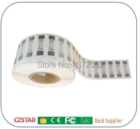 factory price alien h3 chip iso18000-6c long range uhf rfid tags label wet inlay dry inlay sticker adhesive with 9662 antenna enlarge