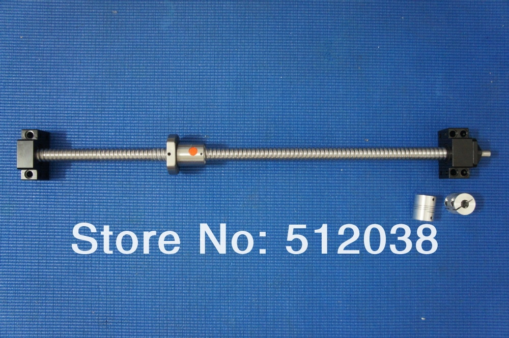 3X SBR20(300/600/1000 mm) Linear rail+12X SBR20UU +SFU1605(350/650/1050 mm)ball screws+3X BK12/BF12 Ballscrew Support+3*coupling