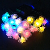 LMID שמש מנורות רומנטי פיות צבעוני חג מולד חתונת קישוט חיצוני עמיד למים Led