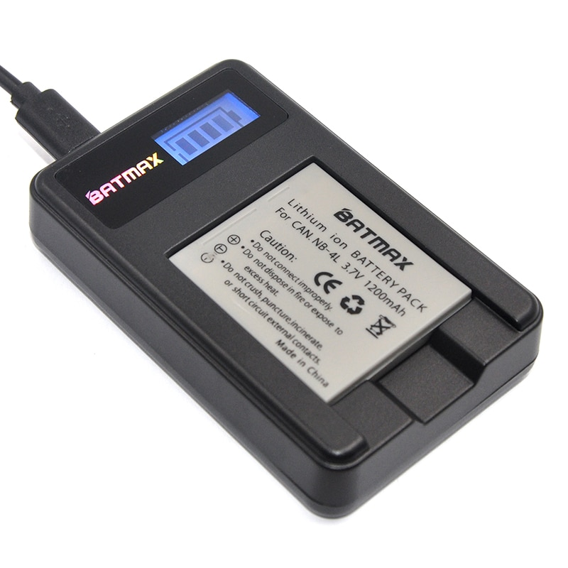 1 шт. 1NB-4L NB4L NB 4L батарея + ЖК-зарядное устройство для Canon IXUS 50 55 60 65 80 75 100 I20 110 115 120 130 IS 117 220 230 255 HS SD780