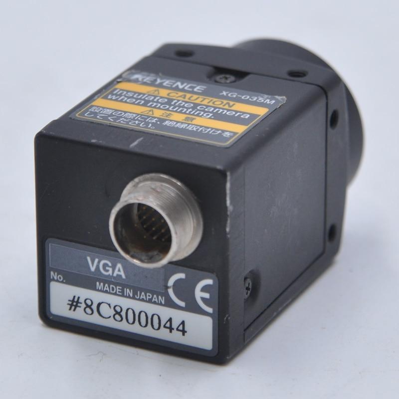 Sistema de visión de cámara industrial blanco y negro KEYENCE XG-035M