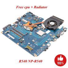 NOKOTION BREMEN-C pour Samsung R540 NP-R540 carte mère dordinateur portable HM55 DDR3 cpu gratuit + radiateur entièrement testé