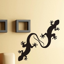 Stickers muraux en vinyle Lizard pour décoration   Bricolage, autocollants amovibles pour animaux et animaux, décoration murale pour la maison