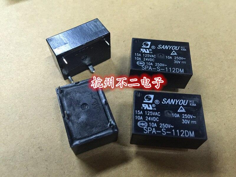 Relé SPA-S-112DM um grupo de normalmente aberto 4 pés 10A250VAC para HF7520-012-HS