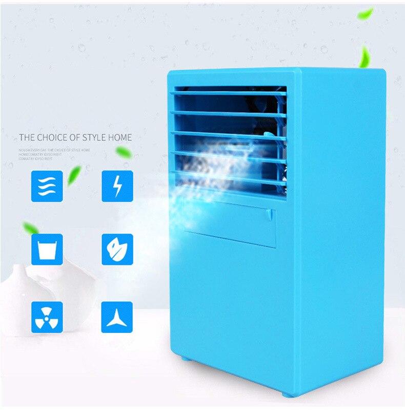 Nevera de aire ártico, pequeños aparatos de aire acondicionado, Mini ventiladores, ventilador de refrigeración de aire, acondicionador portátil de verano