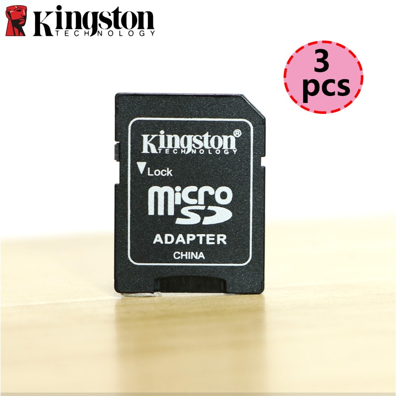 3 sztuk Kingston Adapter Micro SD Mini karta Micro SD TF do pendrive czytnik kart SD dla Sony kamera sportowa Adapter konwerter