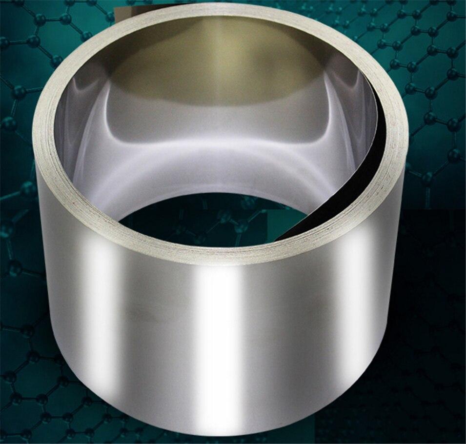 0,2 мм x 50 мм 99.96% чистый никелевый пластинчатый ремешок полосы листы Чистый Никель для батареи электрод точечной сварки машина 18650 никель