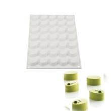 MICRO ovale 35 cavités 3D Silicone moule pour gâteaux chocolat pochoir pâtisserie bonbons Cupcake moule décoration outils moule de cuisson