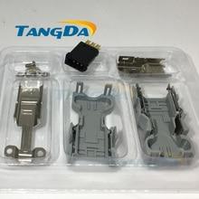 Tangda-connecteurs 55100-0670 IEEE1394 6 core 6pin pour Panasonic yaskawa pour Molex prise de servo encodeur 6p