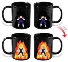 Livraison directe sensible à la chaleur magique couleur changeante en céramique une pièce tasse Luffy tasse
