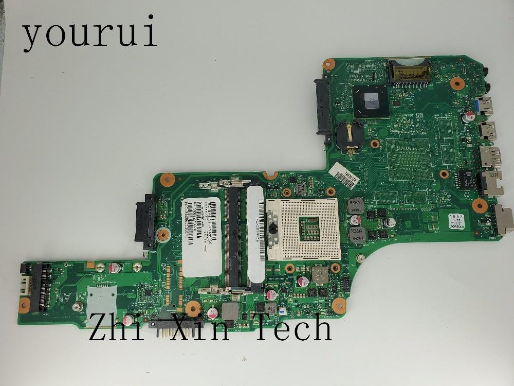 Placa base yourui V000275070 para Toshiba Satellite S855 C855 Laptop placa base DK10FG-6050A2491301-MB-A02 DDR3 prueba ok