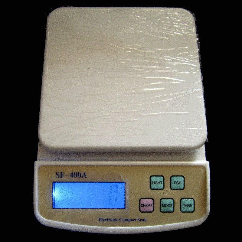 10 кг X 1 г Цифровой Почтовый кухонный кушетный весы домашние весы 22 фунта ЖК-дисплей с подсветкой
