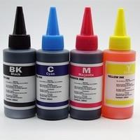 High Quality Refill Dye Ink Kit For Epson T1381 T1384 Workforce 320 630 633 NX400 TX400W Inkjet Printer