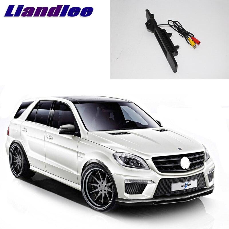 LiandLee ручка багажника автомобиля заднего вида парковочная камера заднего вида для Mercedes Benz ML Class MB W166 2011 ~ 2018