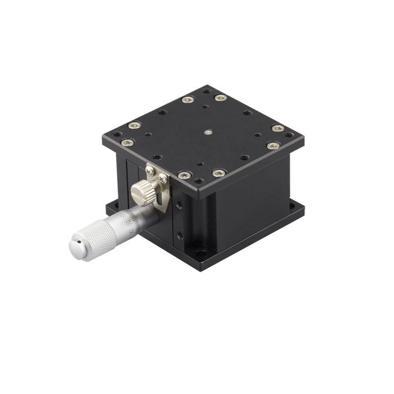 PT-SD60 z-осевой ручной лабораторный домкрат точный ручной подъемник оптический раздвижной подъемник 60 мм x 60 мм лабораторный домкрат