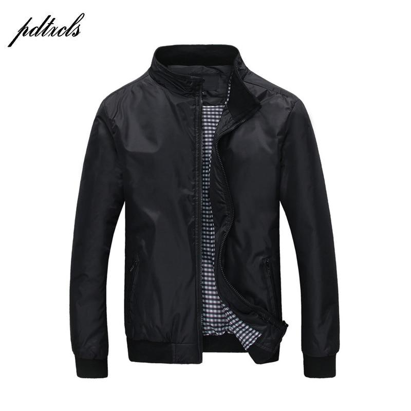Hot Fashion Mens Thin Spring Autumn Jackets Casual Fashion England Style Jacket wind-proof rain-proof Jackets Big Size(M-5XL)