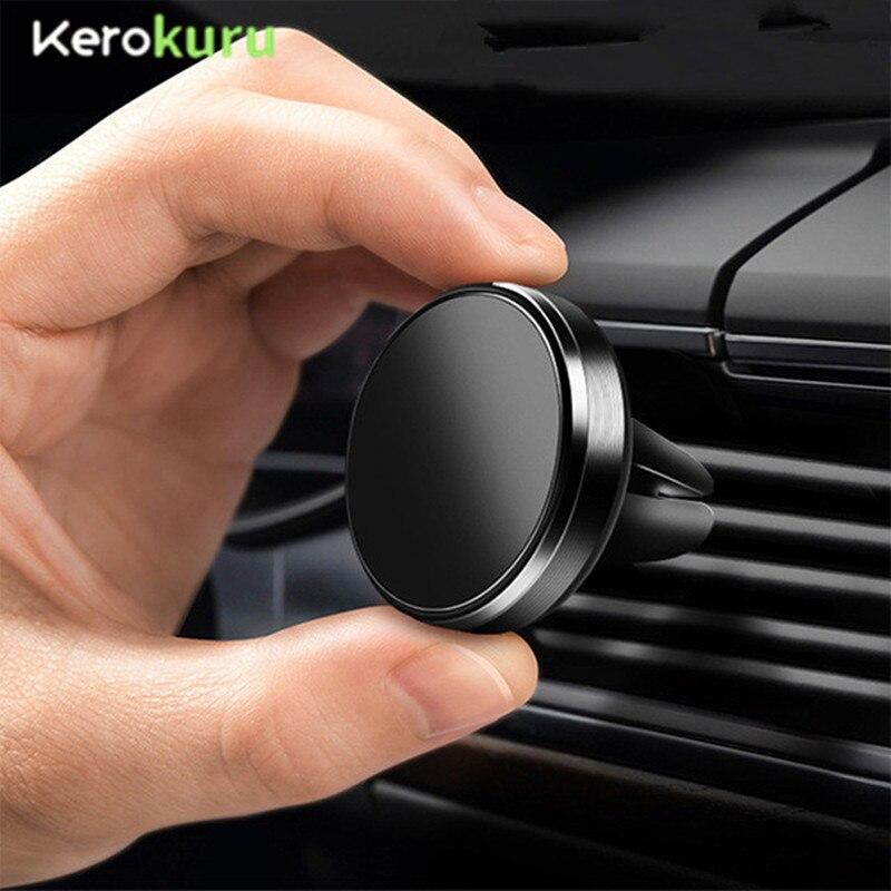 Suporte magnético do telefone para o telefone no carro de ventilação de ar montagem universal móvel smartphone suporte ímã suporte celular para iphone 7