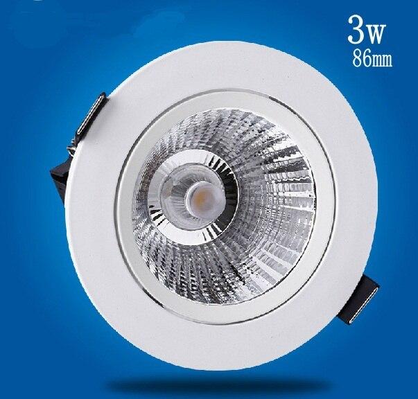 2017 Spot 1 unids/lote 3 w/5 w, luz Led con lente 90lm/w, garantía de calidad epistar Timekitchen Emc, oferta especial de moda superior blanca