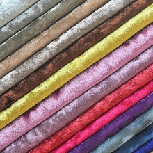 Tela de terciopelo para sofá Diy de 1 metro, corte rojo rosa azul marino, tapicería gruesa de terciopelo, textil para cortinas, sillas, tejidos Tissu