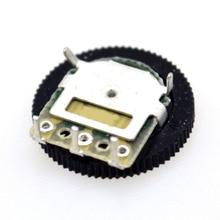50pcs / bag gear potentiometer 20K 16 x 2MM single joint potentiometer dial 3pin