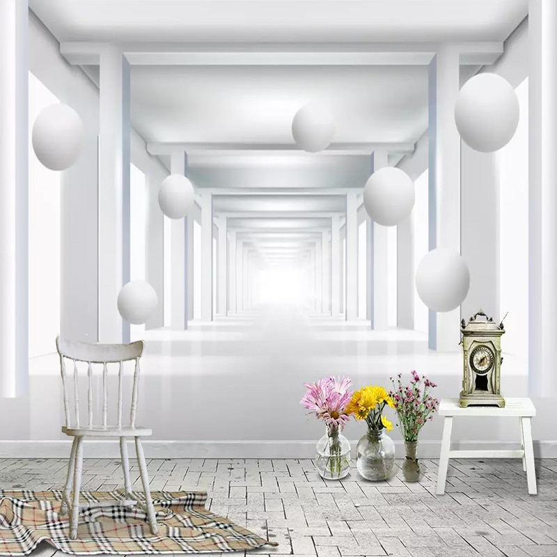 Современное простое 3D стерео пространственное расширение шар фото фрески обои гостиная спальня столовая декорация настенная живопись 3 D
