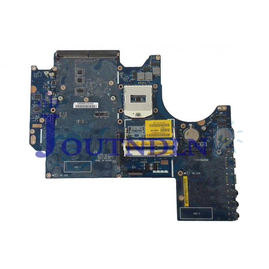 JOUTNDLN para DELL ALIENWARE M17X R5 VAS00 placa base de computadora portátil 2XJJ7 02XJJ7 CN-02XJJ7 LA-9331P DDR3 de gráficos ranuras de tarjeta